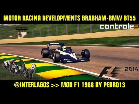 [F1 2014] Motor Racing Developments Brabham-BMW BT55 @ Autodromode Interlagos Mod F1 1986 by Pedro13
