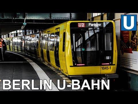 🇩🇪 Berlin U-Bahn - Berlin Metro - All The Lines (2019)