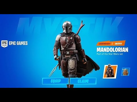 The Mandalorian And Baby Yoda Are Coming To The Item Shop Today Fortnite New Item Shop Theory Youtube