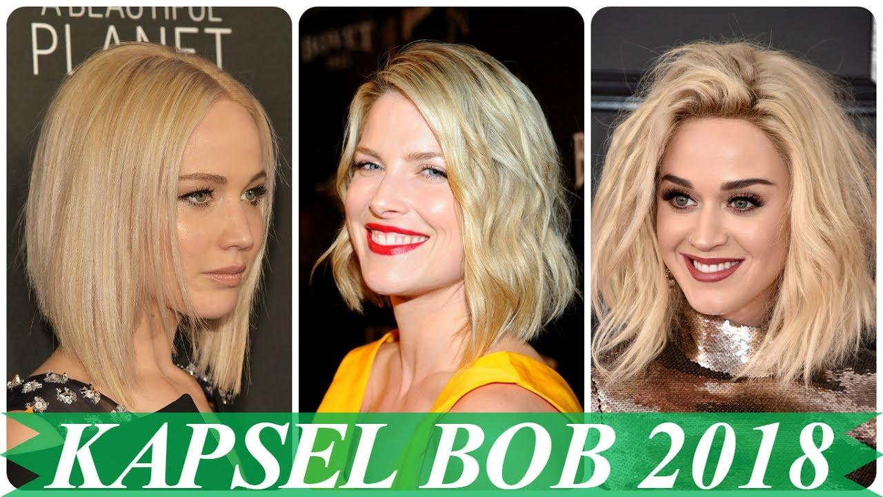 Magnifiek Blonde bob kapsels 2018 - YouTube @ZW87
