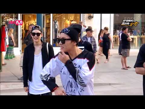 K-POP STARS DANCING IN PUBLIC