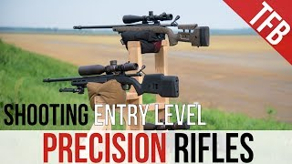 Shooting Entry Level Precision Rifles