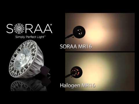 SORAA LED MR16 Full Spectrum Light Bulb Overview & Comparison By Total Lighting Supply