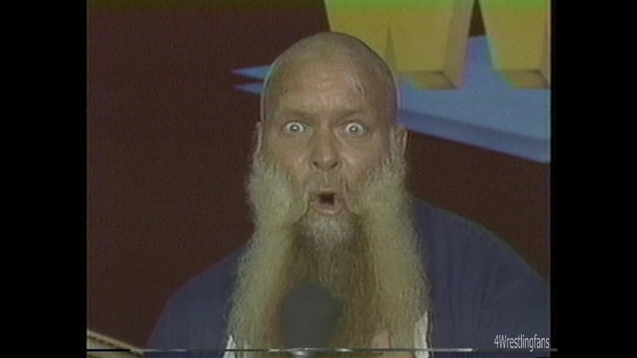 Nwa World Wide Wrestling 8 2 86 Jimmy Valiants New Haircut