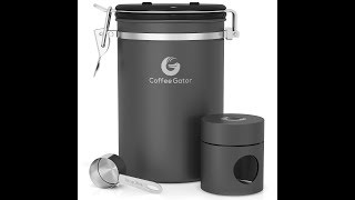 Charcoal Coffee Storage Canister Review