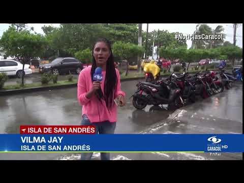 San Andrés y Providencia en alerta por posible tormenta tropical