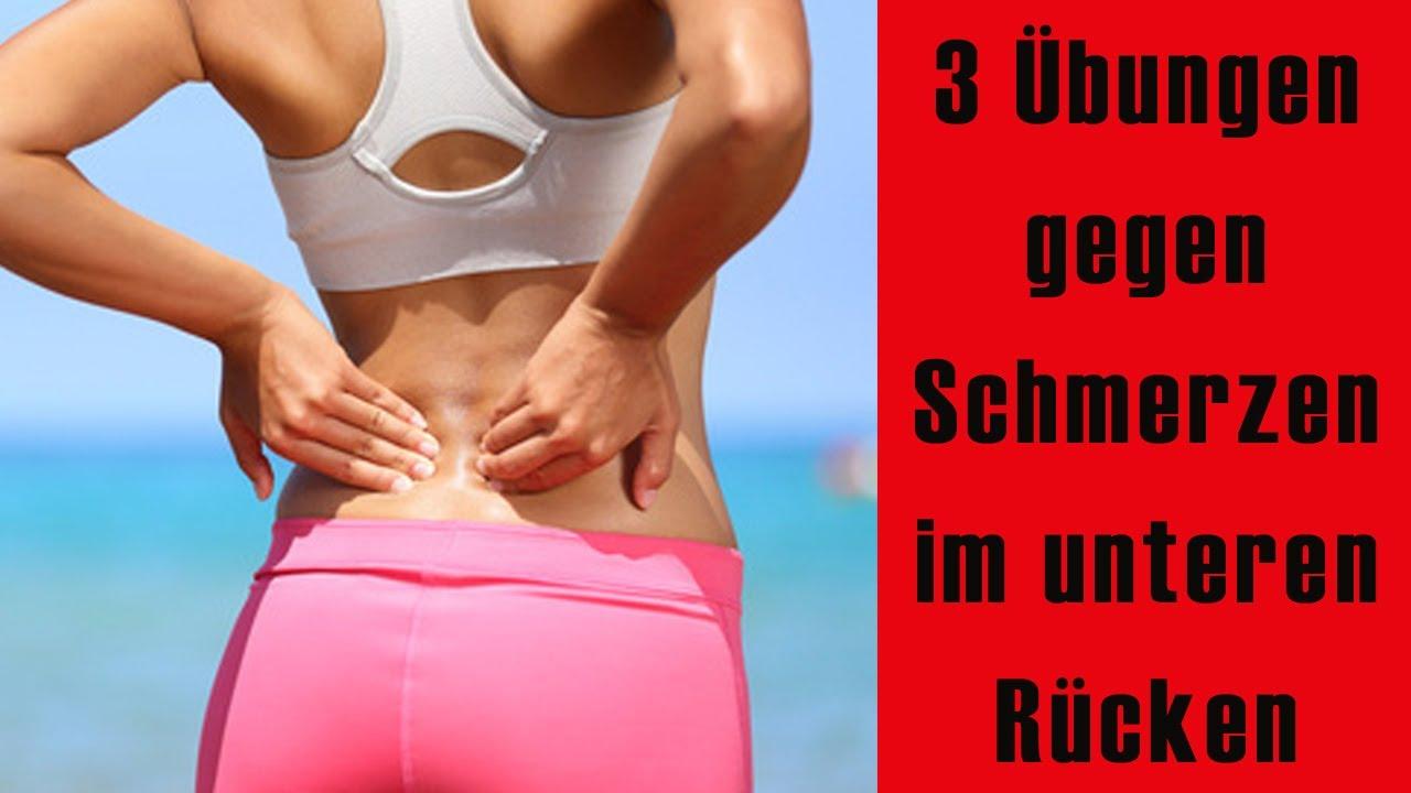 Rückenschmerzen unterer Rücken – 7 wirksame Methoden zur schnellen Schmerzlinderung
