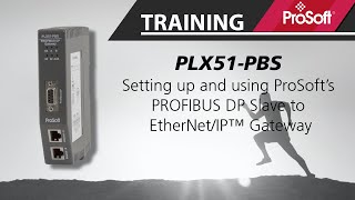 Setting up your ProSoft PROFIBUS DP Slave to EtherNet/IP™ Gateway
