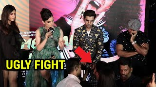 Kangana Ranaut's UGLY FIGHT with a reporter at Wakhra Swag song launch | Judgementall Hai Kya
