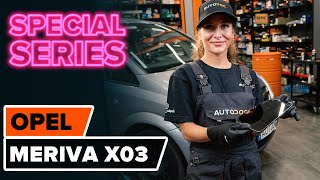 Replacing Glass For Wing Mirror yourself video instruction on OPEL MERIVA