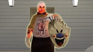Mr Meat vs Ice Scream   Mr Meat has turned into a Rod funny moments in Ice Scream 2