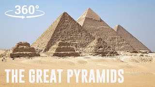 The Great Pyramids of Egypt 360° Experience   Escape Now thumbnail