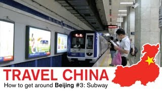 Beijing Subway - Riding the Train in China