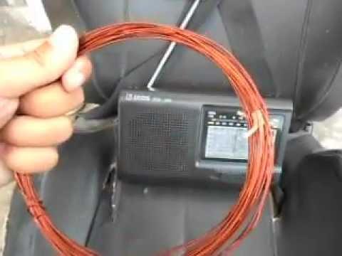 SIMPLE SHORTWAVE RADIO ANTENNA TENS TSR 909.AVI