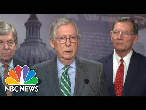 McConnell Shuts Down Manchin's Voting Rights Compromise Head Of Vote