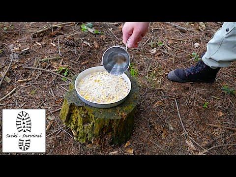Günstige Outdoor-Nahrung 1 - Müsli