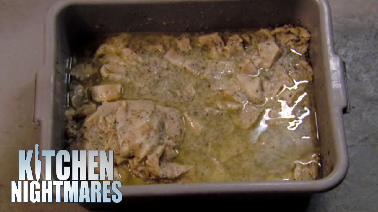 Owner Defends His VILE Fridge | Kitchen Nightmares