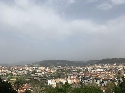 Ourense, afectado por la llegada de polvo sahariano