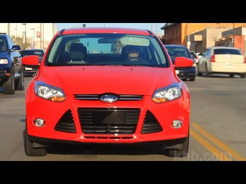 2014 Ford Focus Review Kelley Blue Book Youtube