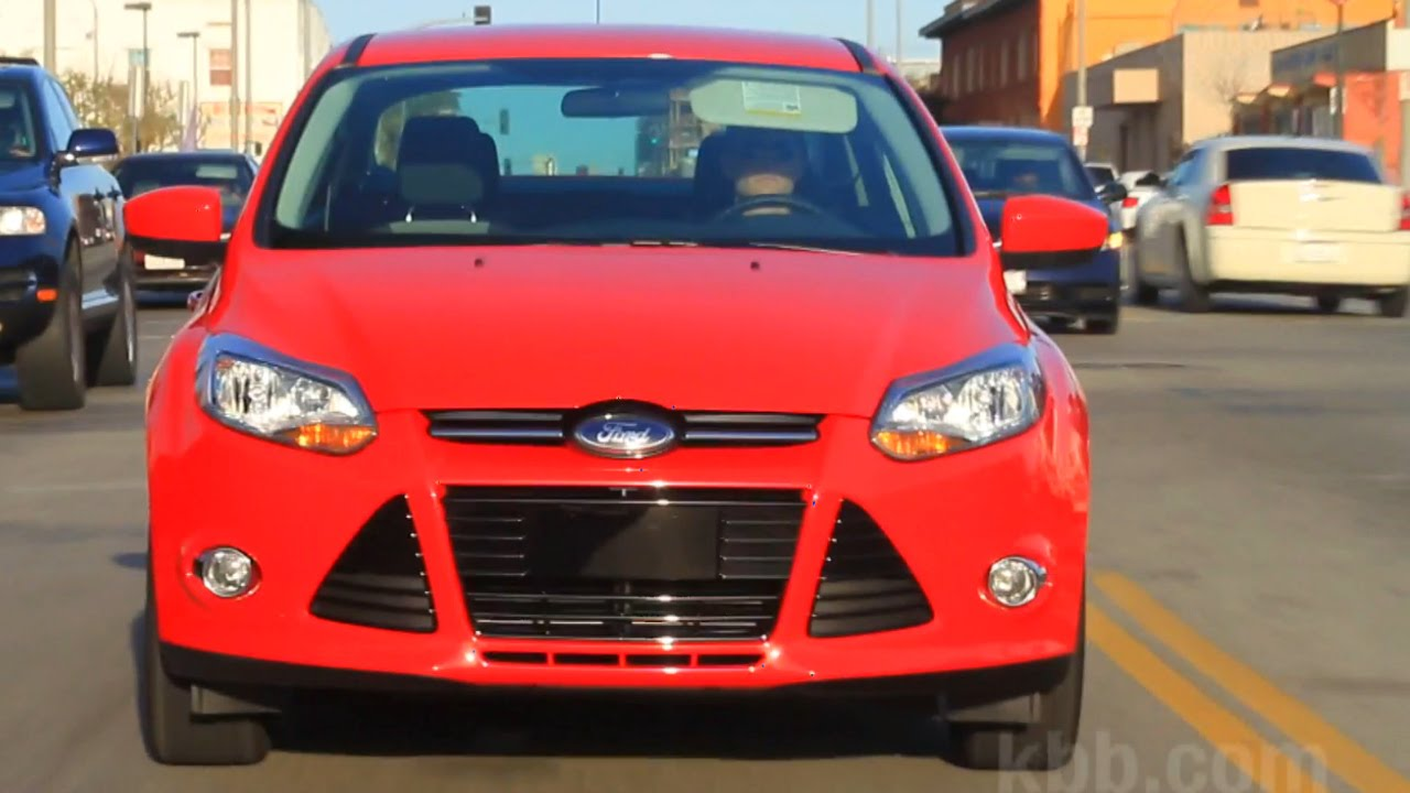 2014 Ford Focus Review Kelley Blue Book