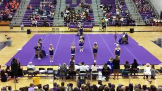 Osbourn Park High School Sparkle Jackets PWC Cheer Competition 2016