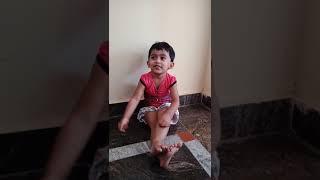 2yrs girl act on f2 Telugu movie trailer