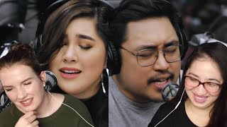 "December Avenue, Moira Dela Torre perform ""Kung 'Di Rin Lang Ikaw"" Wish FM Reaction"