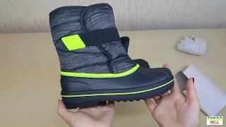 Boys Space Dye Snowboot - зимние сапоги для мальчика. Покупка товаров из США.