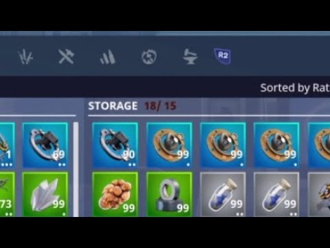 How To Add More Items In Your Storage On Fortnite Save The World