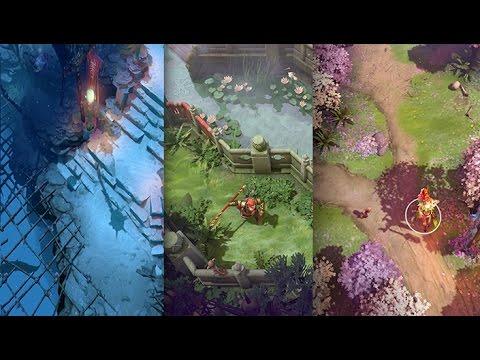 Top 3 Best Dota 2 Map (Top 3 Best Terrain) - YouTube Dota Map on