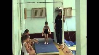 Спортивная гимнастика г.Тула Борисов Илья 7 лет и Харин Даня 7 лет