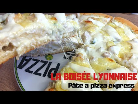 la-pizza-boisÉe-lyonnaise---recette-pÂte-a-pizza-express-sans-temps-de-repos