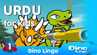 Urdu for kids DVD set - اردو - Urdu language lessons for children - Kids learning Urdu