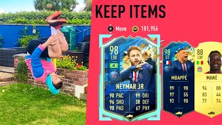 NEYMAR & MBAPPE IN A BACKFLIP PACK!! -  FIFA 20