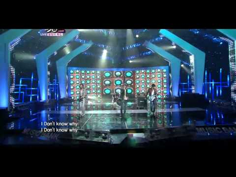 [110325] CN Blue Comeback Stage - I Don't Know Why