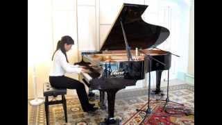 Anna Chiara Buccoliero - Fryderyk Chopin, Sonata Op. 35 - 1. Grave - Doppio movimento
