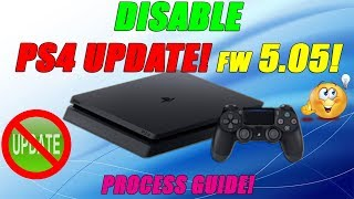 Disable PS4 Updates Via FTP! Firmware 5.05 Exploit! Process Guide!