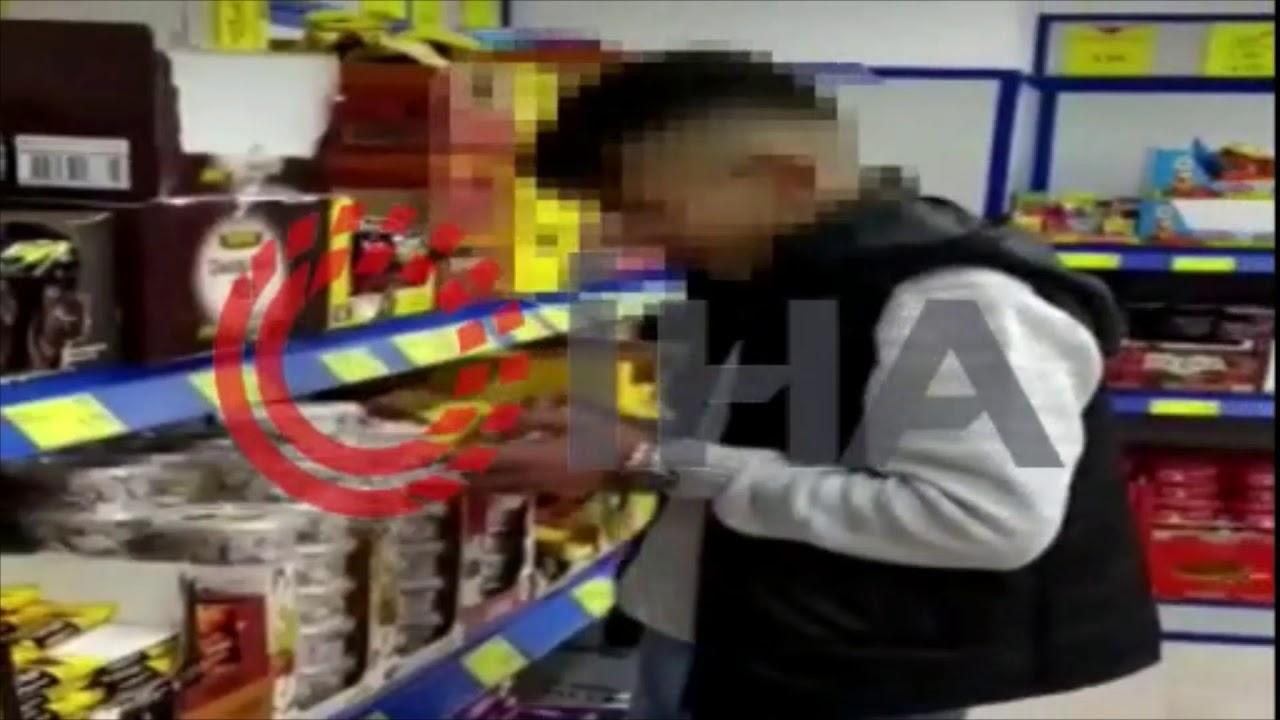 Marketteki gıdaları yiyen genç adli kontrol şartıyla serbest