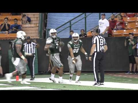 Hawaii Football Highlights vs. UNLV - Homecoming 10-15-16