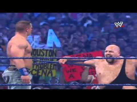WWE WrestleMania 25 World Television Premiere - John Cena Vs Edge Vs The Big Show HD