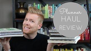 Video Planner Haul Review ft. Happiness Planner, Erin Condren, Get To Work, Day Designer and More! download MP3, 3GP, MP4, WEBM, AVI, FLV Juni 2018