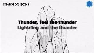 Thunder - Imagine Dragons [Lyrics]