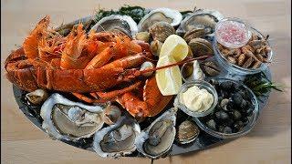 preparer un plateau de fruits de mer