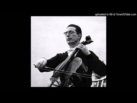 Boccherini : Cello Concerto in B dur | Antonio Janigro | Franco Caracciolo | RAI Napoli (20.1.1959)
