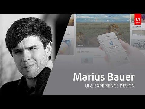 Live UX Design mit Marius Bauer - Adobe Live 1/3