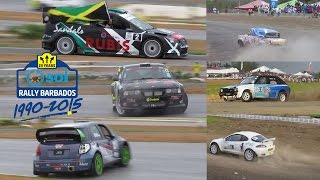Sol Rally Barbados 2015  - Highlights (Feat. Simon Jean-Joseph & Toni Gardemeister)