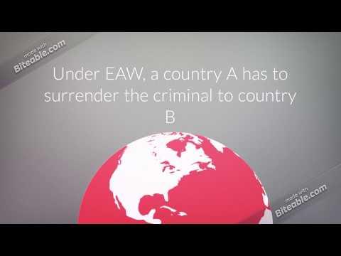 European Arrest Warrant