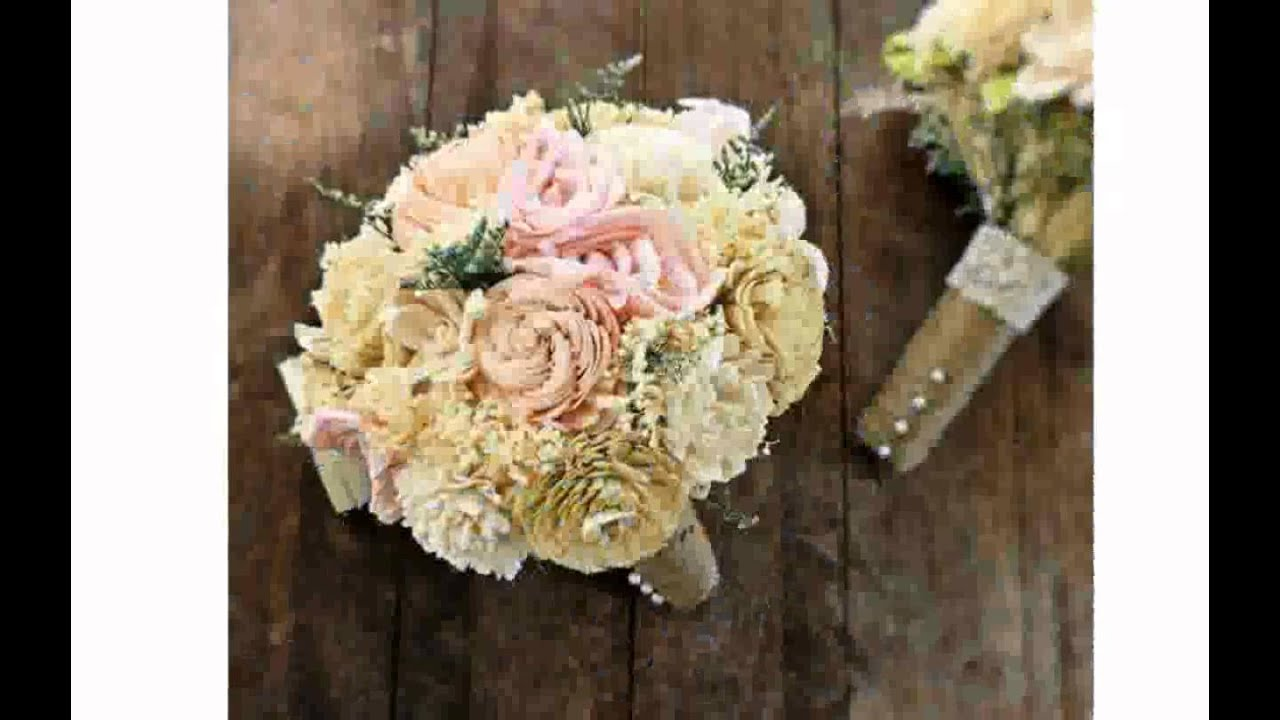Bridesmaid Flower Bouquets - YouTube