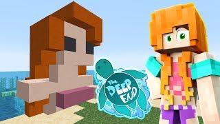 MERMAID COVE | Minecraft: The Deep End - Ep.02 | Marielitai Gaming