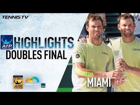 Highlights: Bryans Capture 37th Masters 1000 Title In Miami 2018